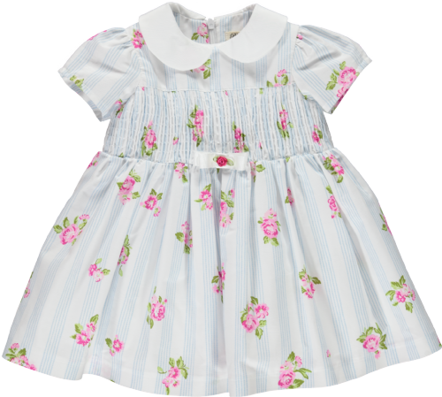 Piccola Speranza Flower Baby Dress